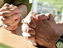 Gebet verbindet und trägt
